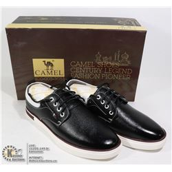 PAIR OF NEW BLACK SHOES SIZE EU40