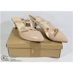 NEW PAIR OF SINGLE BACK HEELS SIZE 38