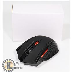 NEW BLACK WIRELESS OPTICAL MOUSE