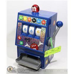 VINTAGE M&M'S SLOT MACHINE