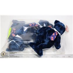 TY POPS UK EXCLUSIVES BEARS 3 PACK