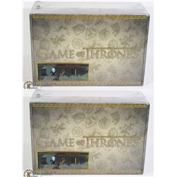 TWO NEW GAME OF THRONES GIFT SETS, INCLUDES VINYL