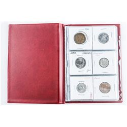 Coin Starter Collection, 12 Coins, Stock Book with