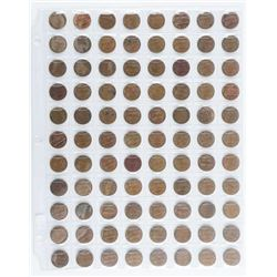 Lot (88) USA Lincoln Cents