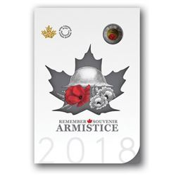 RCM Armistice 2018 Remember, Coin Folio Plus (4) W