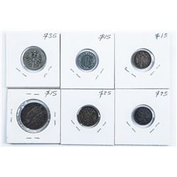 Group of (6) Coins - Great Britain, Ireland, Germa