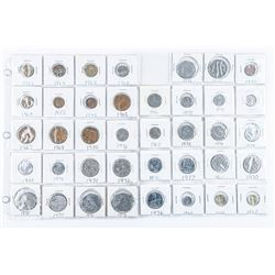 Group of (39) Great Britain Coins UNC