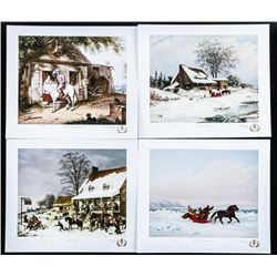 Cornelius Krieghoff Art Folio Two 4 Images LE - Ma