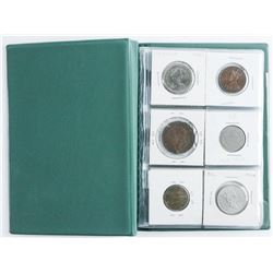 Starter Coin Book 18 Coins includes Silver