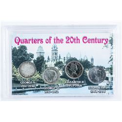 Quarters of the 20th Century Cased