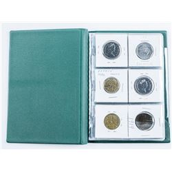 Starter Coin Collection 18 Coins, Album with Silve
