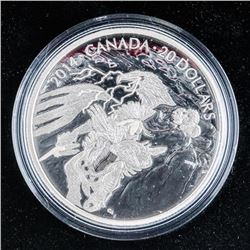 RCM Legends of Nanaboozhoo .999 Fine Silver $20.00