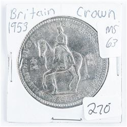 Britain 1953 Crown MS 63