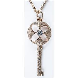MM Designer Custom Necklace with 'Key Pendant' Set