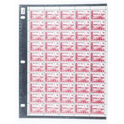 Canada Post - Sheet Stamps Original Sheet 50 x 1.0