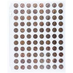 Group of (88) USA Lincoln Cents