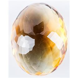 Loose Gemstone Oval Cut Citrine, Quartz 22.12ct. T
