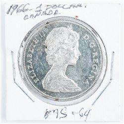 1966 Canada Silver Dollar MS64