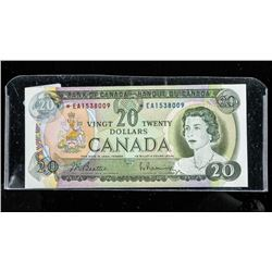 Bank of Canada 20.00 *Replacement BC-502A Choice U