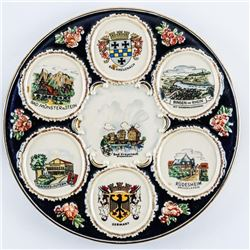 Germany Decorative Plate, Hand Painted