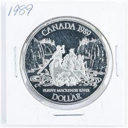 1989 Canada Silver Dollar