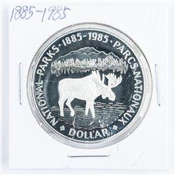 1985 Canada Silver Dollar