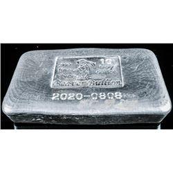 Canadian .999 Fine Silver Hand Poured 10oz Brick -