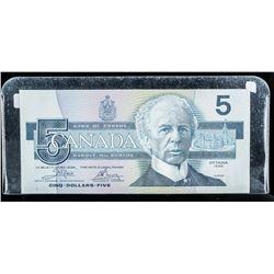 Bank of Canada 1986 5.00 BC56 A Choice UNC