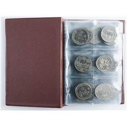 Coin Stock Book 60 - Canada Nickel Dollars