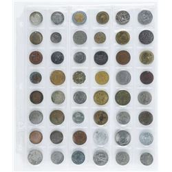 Group of (48) World Coins
