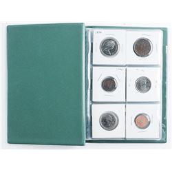 Starter Coin Collection Stock Book (12) Coins