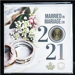 RCM Married in 2021 UNC Coin Folio