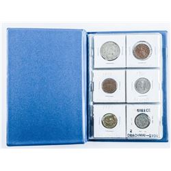 Coin Stock Book with (18) Coins, Includes  Silver