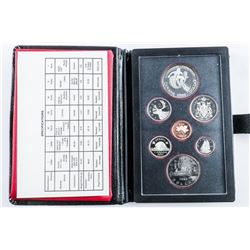 1983 RCM Proof Set with Silver Dollar