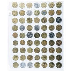 Group of (63) Mixed Tokens