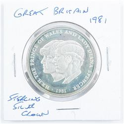 Great Britain 1981 Sterling Silver Crown
