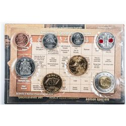 2010 Canada Special Edition UNC Set -  Includes 25 Cents Remembrance Day; $1-100th  Anniversary of t