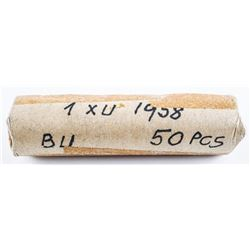 Roll 1958 (S) Viet Nam North Viet Name XU  Coins Aluminum US CAT - 5-8.00