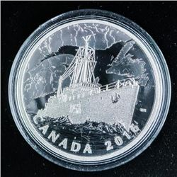 RCM 'Patrol Against U-Boats' .999 Fine Silver  $20.00 Coin over 1 Troy ounce ASW