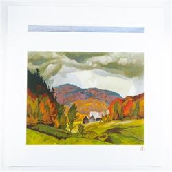 A.J. Casson (1898-1992) 'The White Series'  'Back Country' Casson Lake and O.S.A. Lake  LE/250 World