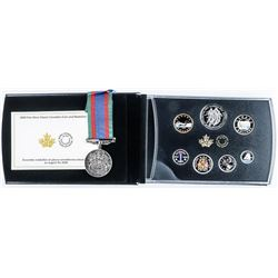 RCM 2020 Fine Silver Classic Canadian Coin &  Medallion Set .9999 Fine Pure Silver, With  Matching W