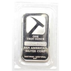 PAN American NWT Mint .999 Fine Silver 1oz  Bar.