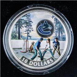 2017 RCM Vancouver Canucks .999 Fine Silver