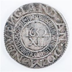 1652 Facsimile Pine Tree Shilling by Int.  Sterling Co.