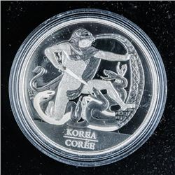 The Korean Armistice Special Edition Proof  Silver Dollar .999 Fine Silver 23.17grams ASW