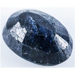 Loose Gemstone 7.97ct Oval Cut Blue Sapphire.  TRRV: $2390.00