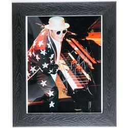 ELTON JOHN 8x10 Photo Signed and Framed