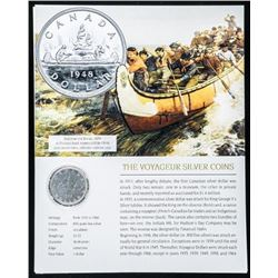 1936 Canada Silver Dollar with 8x10 Giclee
