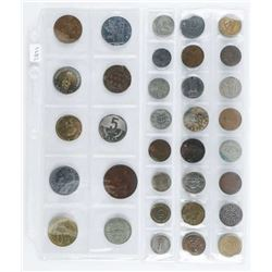 Group of (34) Foreign Coins