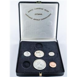 1867-1967 RCM Specimen Coin Set with Leather  Case
